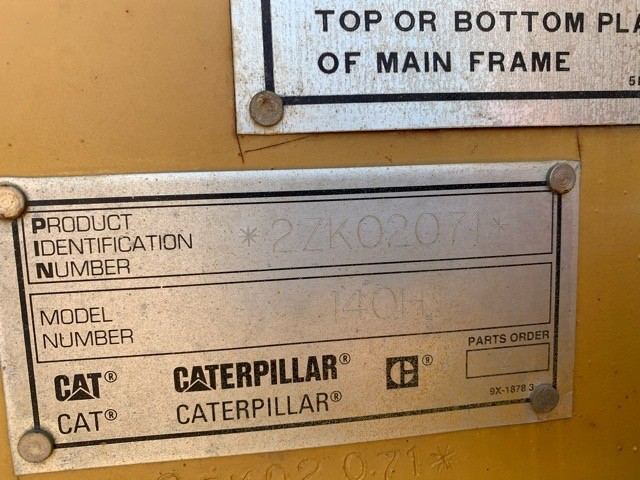 1997 Caterpillar 140H For Sale in Medford, Minnesota, USA