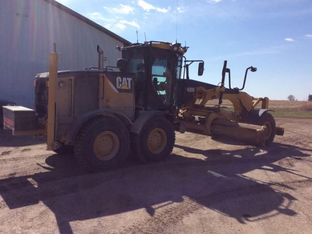 2009 Caterpillar 140M For Sale in Iowa City, Iowa, USA