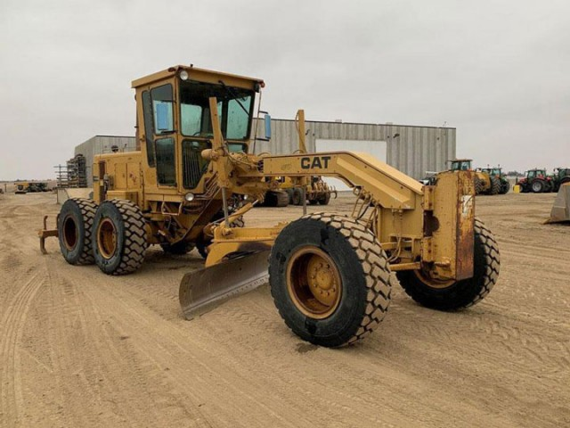 1989 Caterpillar 140G For Sale in Houston, Texas, USA