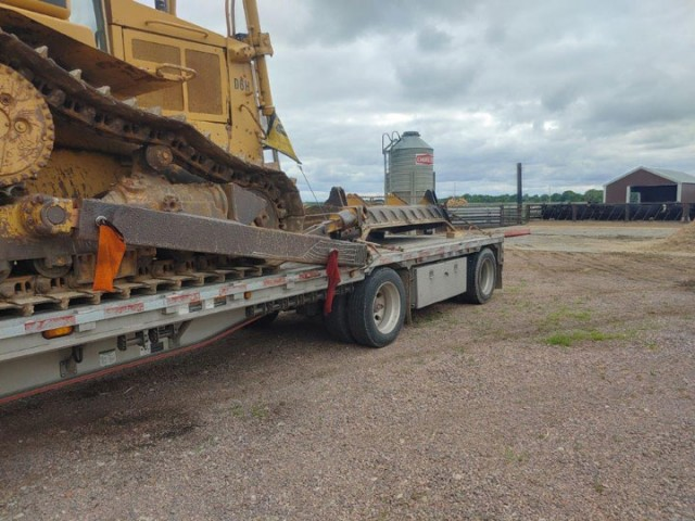 1989 Caterpillar D6H For Sale in Houston, Texas, USA