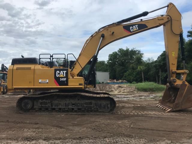 2016 Caterpillar 349FL For Sale in Houston, Texas, USA