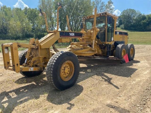 2007 Caterpillar 140H For Sale in Harvey, Illinois, USA