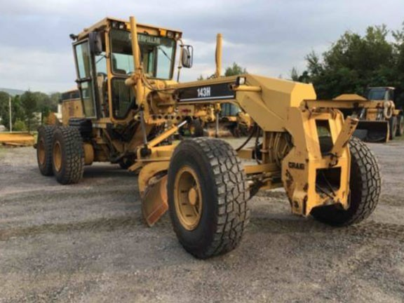 2005 Caterpillar 143H For Sale in Albany, New York, USA