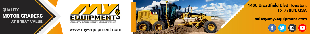 Used Motor Graders For Sale | MY-Equipment.com